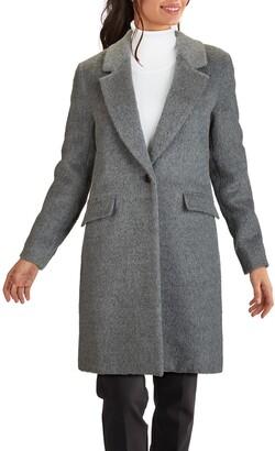 Cole Haan Wool & Alpaca Blend Coat