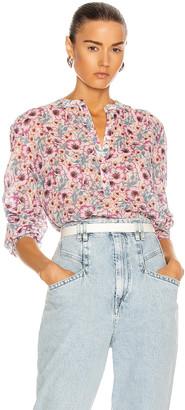 Etoile Isabel Marant Maria Shirt in Ecru | FWRD