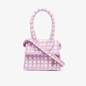 Jacquemus pink Le Petit Chiquito leather mini bag