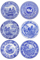 Spode Blue Room Traditions Plates (Set of 6)