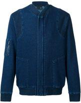 AG Jeans 'Atroi' knit bomber jacket