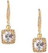 Anne Klein Pav Crystal Drop Earrings