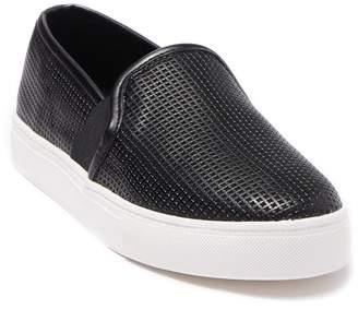 Mia Tad Perforated Platform Slip-On Sneaker