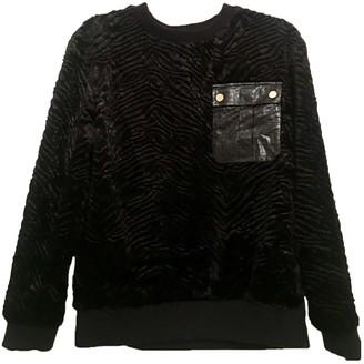 Self-Portrait Black Synthetic Knitwear