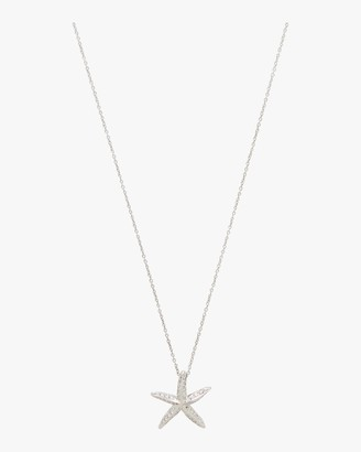 Roberto Coin Diamond Starfish Pendant Necklace