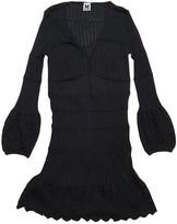 M Missoni Black Wool Dress for Women