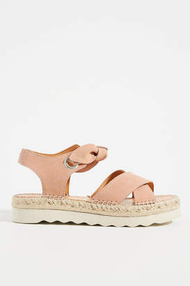 Frye and Co. Bow Ankle-Tie Sandals