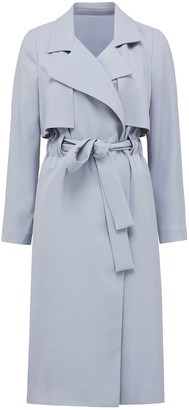 Forever New Sarah Trench Coat - Blue - 10