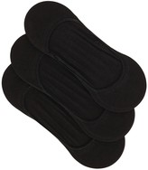 Polo Ralph Lauren Black Low-cut Stretch Cotton Socks - Set Of Three