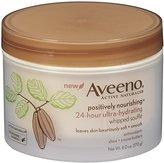 Aveeno Positively Nourishing Whipped Souffle Body Cream, 6 ounce