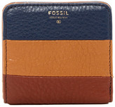 Fossil Sydney Colorblock Leather Bifold Wallet