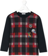 Dolce & Gabbana checked top - kids - Cotton - 4 yrs
