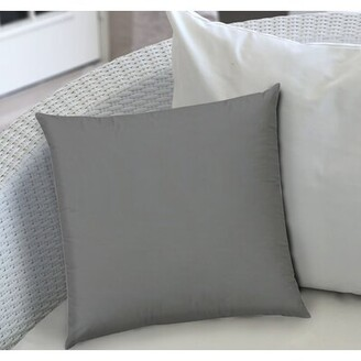 Alcott Hill Gabrielle Rectangular Pillow Cover and Insert Color: Gray
