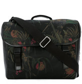 Paul Smith floral print cross shoulder bag - men - Calf Leather/Leather/Acrylic/Polyamide - One Size