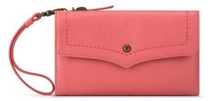 The Sak Ventura Smartphone Leather Crossbody Wallet