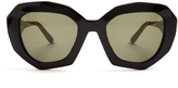 Marni Ghost angular cat-eye sunglasses