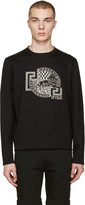 Versus Black Sitting Lion Pullover