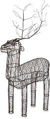 Nkuku Bassam Standing Reindeer