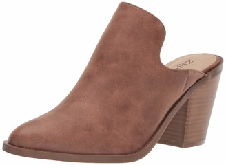 Zigi Women's Maurine Mule Tan 7.5 Medium US