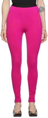 Balenciaga Pink Logo Jogger Lounge Pants