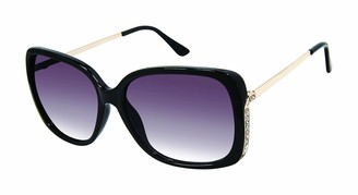 Tahari Women's TH780 Rectangular-Shaped Sunglasses with 100% UV Protection 60 mm