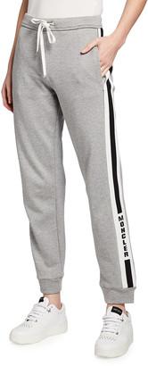 Moncler Logo Stripe Sweatpants