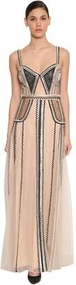 Temperley London Embellished Tulle Dress