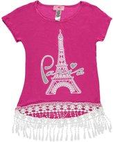 "Dreamgirl Dream Girl Big Girls' ""Parisian Crochet"" Top - , 10-12"
