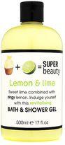 Super Beauty Lemon and Lime Bath & Shower Gel 500ml