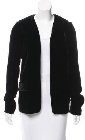 Alexander Wang Velvet Cutout Jacket