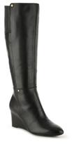 Lauren Ralph Lauren Tamora Wide Calf Wedge Boot