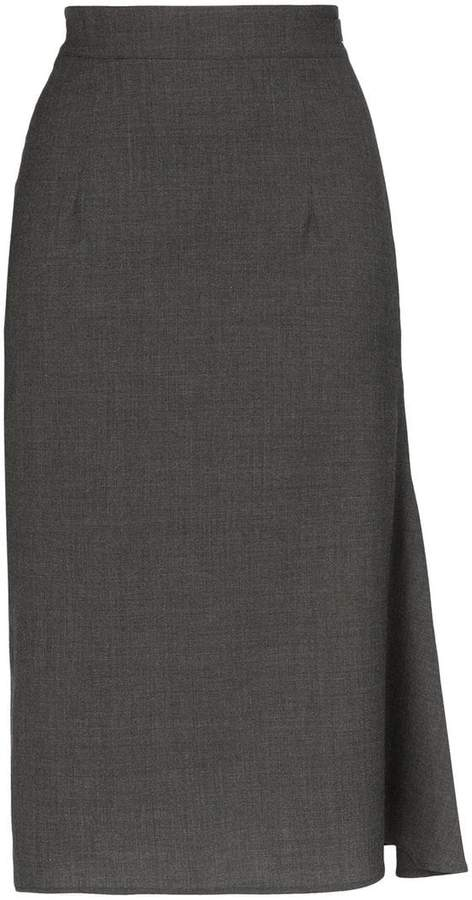 a340df7a5f8 Grey Pencil Skirt - ShopStyle