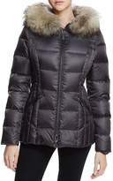 Dawn Levy Nikki Fur Trim Short Down Coat