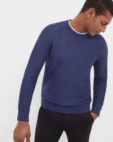 TRAFFIK Twill stitch crew neck sweater