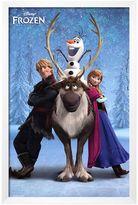Art.com Disney's Frozen Team Framed Wall Art by