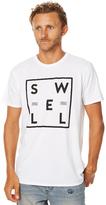 Swell Borderline Mens Tee White
