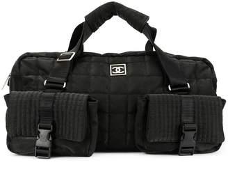 Chanel Pre-Owned Sport Line Choco Bar Travel handbag