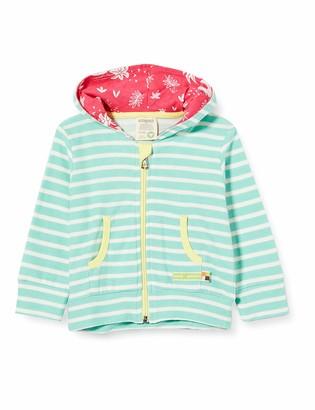 loud + proud Baby Girls' Striped Jacket Organic Cotton