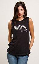 RVCA Junior's Lucidity VA Graphic Muscle Tank