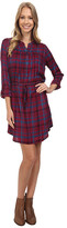 Lucky Brand Bungalow Plaid Dress