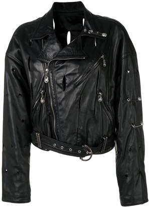 Versace Pre-Owned biker jacket