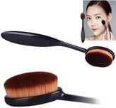 SMTSMT Pro Cosmetic Makeup Face Powder Blusher Toothbrush Curve Foundation Brush