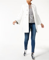 INC International Concepts Bell-Sleeve Pontandeacute;-Knit Coat, Created for Macy's