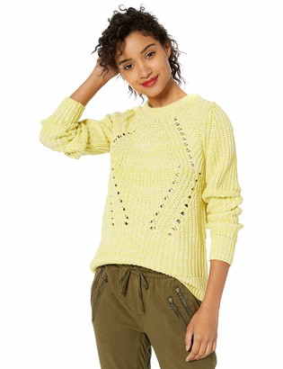 Lucky Brand Women's Crew Neck Long Sleeve Sweater