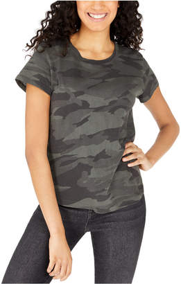 Splendid Abbie Cotton Camo-Print T-Shirt