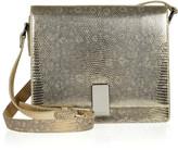 Ralph Lauren Metallic lizard shoulder bag