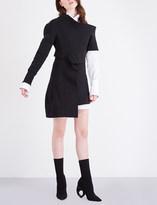 Burberry Asymmetric jersey dress