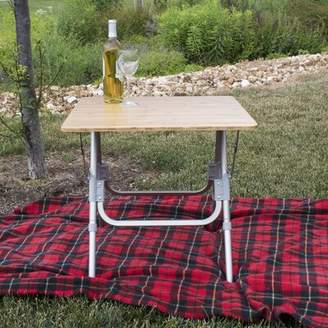 "Camping Side 23.5"" Square Folding Table Offex"