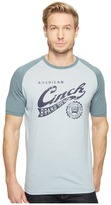 Cinch Short Sleeve Raglan Jersey Tee Men's T Shirt