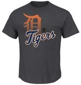 Detroit Tigers Men's Charcoal Heather T-Shirt
